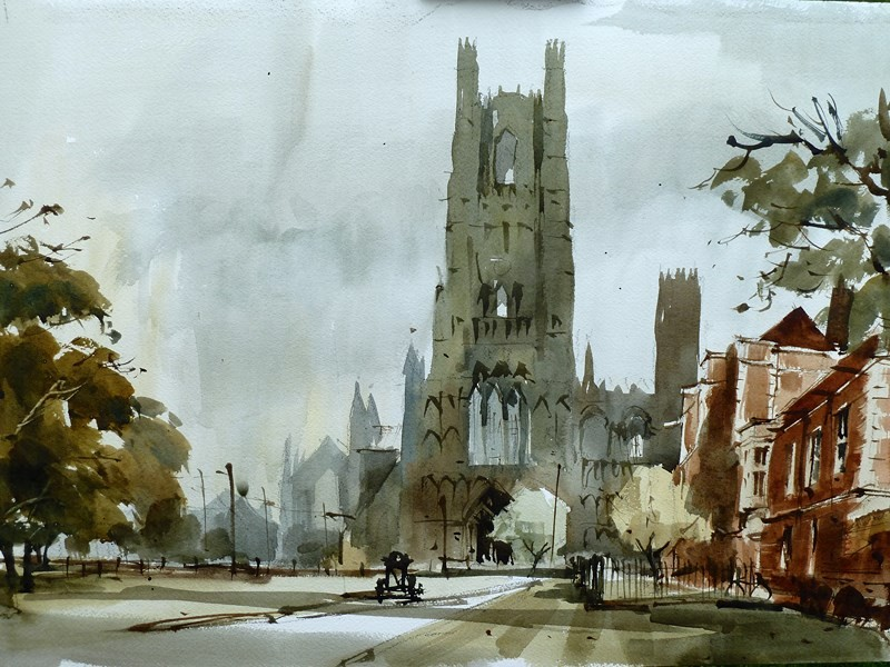 Watercolour Fast And Free Dvd With John Hoar