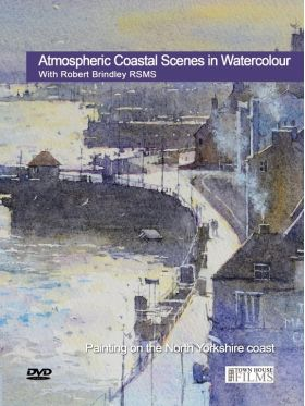 Robert Brindley Atmospheric Coastal Watercolour Landscapes
