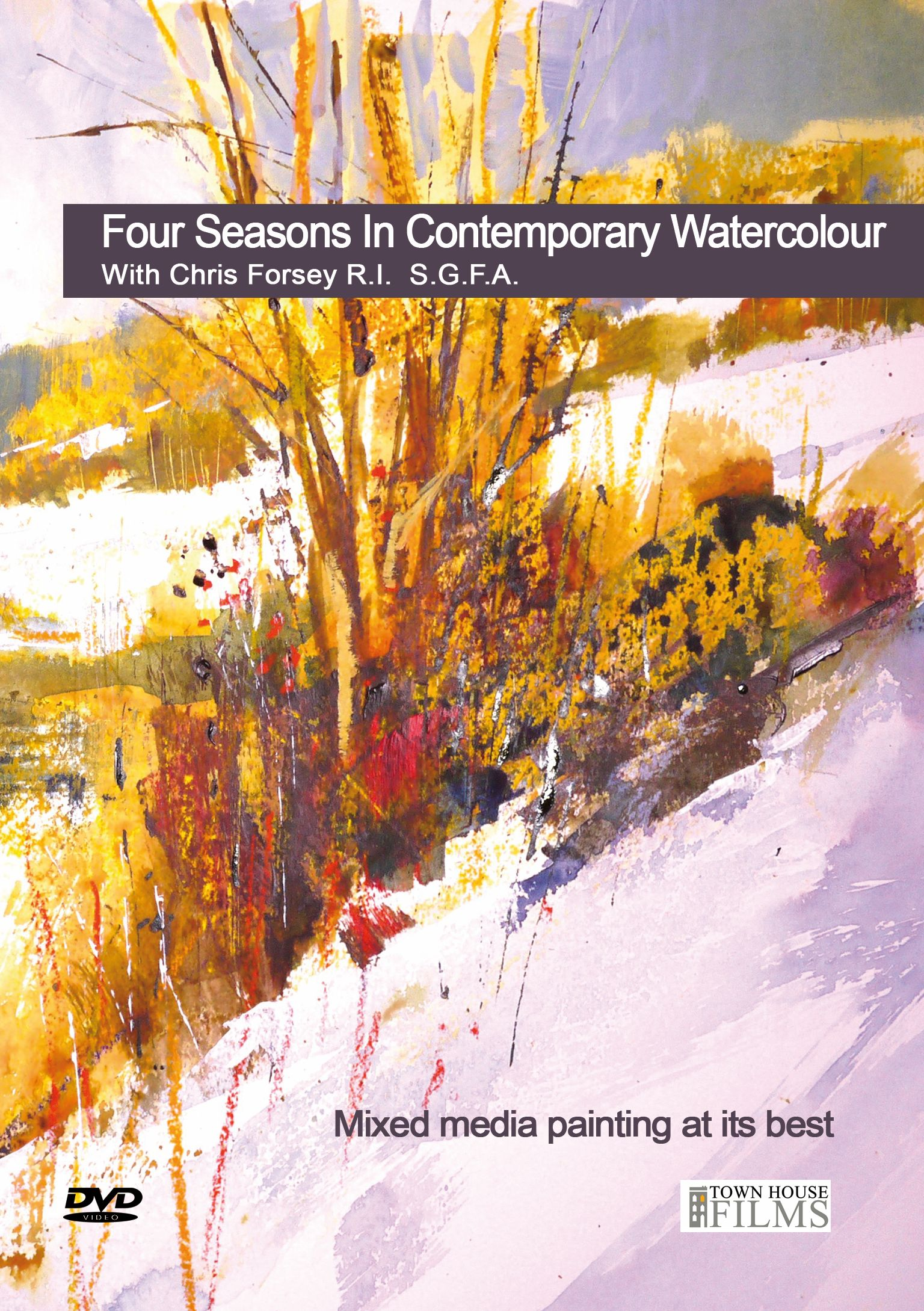 Four Seasons In Contemporary Watercolour Dvd With Chris Forsey