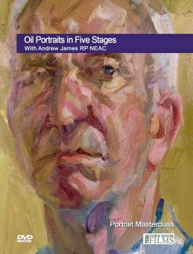 Andrew James Oil Portraits in Five Stages