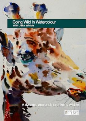 Jake Winkle Going Wild in Watercolour DVD available at The Artists Place