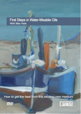 Max Hale Water Mixable Oils DVD