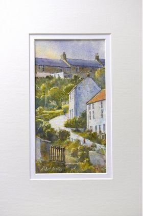 Robert Brindley Atmospheric Coastal Watercolour Landscapes available at The Artists Place